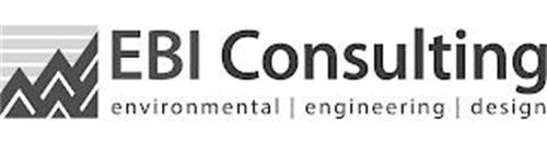 EBI CONSULTING; ENVIRONMENTAL|ENGINEERING|DESIGN