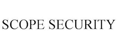 SCOPE SECURITY