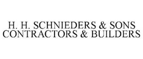 H. H. SCHNIEDERS & SONS CONTRACTORS & BUILDERS