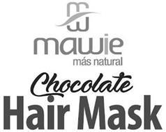 MAWIE MÁS NATURAL CHOCOLATE HAIR MASK
