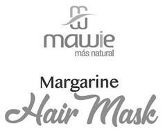 MAWIE MÁS NATURAL MARGARINE HAIR MASK