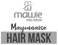 MAWIE MÁS NATURAL MAYONNAISE HAIR MASK