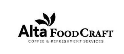ALTA FOODCRAFT COFFEE & REFRESHMENT SERVICES