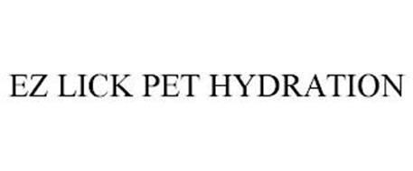 EZ LICK PET HYDRATION