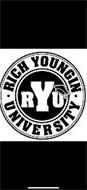 · RICH YOUNGIN · UNIVERSITY RYU