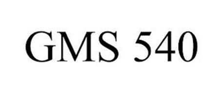 GMS 540