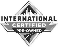 INTERNATIONAL CERTIFIED PRE-OWNED