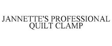 JANNETTE'S PROFESSIONAL QUILT CLAMP