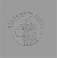 ALICIA ADAMS ALPACA