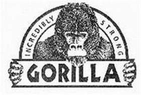 GORILLA INCREDIBLY STRONG
