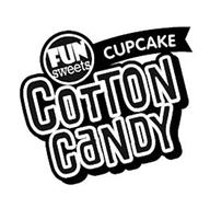 FUN SWEETS CUPCAKE COTTON CANDY