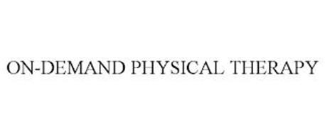 ON-DEMAND PHYSICAL THERAPY