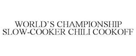 WORLD'S CHAMPIONSHIP SLOW-COOKER CHILI COOKOFF