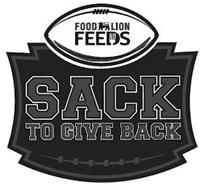 FOOD LION FEEDS SACK TO GIVE BACK