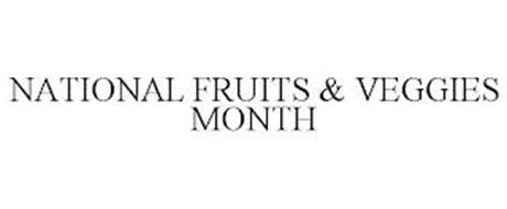 NATIONAL FRUITS & VEGGIES MONTH
