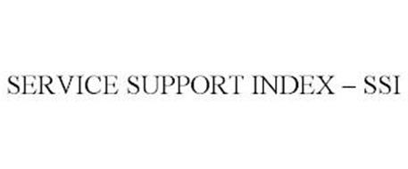 SERVICE SUPPORT INDEX - SSI