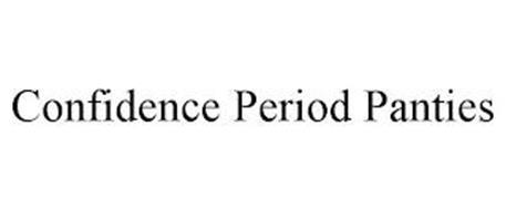 CONFIDENCE PERIOD PANTIES