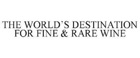 THE WORLD'S DESTINATION FOR FINE & RARE WINE