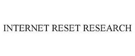 INTERNET RESET RESEARCH