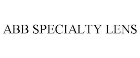 ABB SPECIALTY LENS