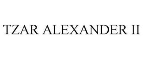 TZAR ALEXANDER II