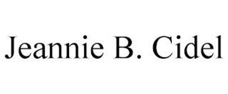 JEANNIE B. CIDEL
