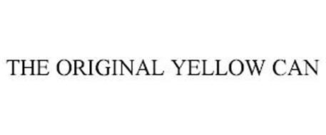 THE ORIGINAL YELLOW CAN