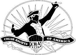 CIGAR RIGHTS OF AMERICA CRA 1776