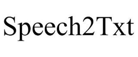 SPEECH2TXT