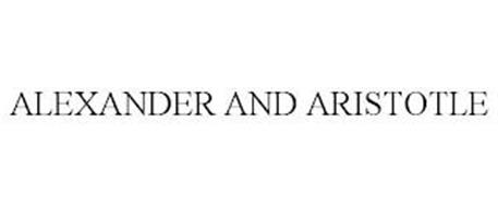 ALEXANDER AND ARISTOTLE