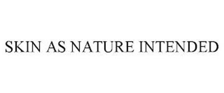 SKIN AS NATURE INTENDED