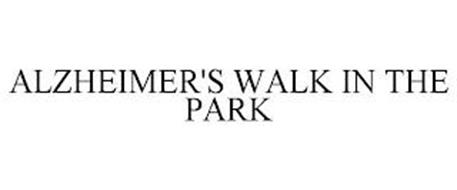 ALZHEIMER'S WALK IN THE PARK
