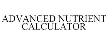 ADVANCED NUTRIENT CALCULATOR