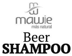 MM MAWIE MÁS NATURAL BEER SHAMPOO