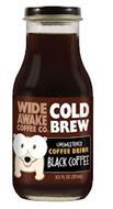 WIDE AWAKE COFFEE CO COLD BREW UNSWEETENED COFFEE DRINK BLACK COFFEE