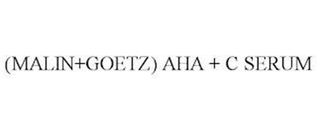 (MALIN+GOETZ) AHA + C SERUM