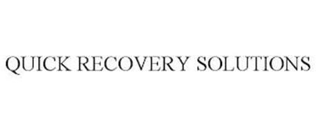 QUICK RECOVERY SOLUTIONS