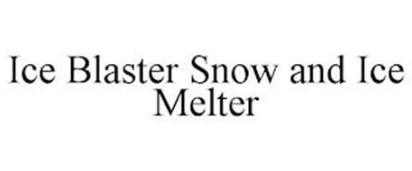 ICE BLASTER SNOW AND ICE MELTER