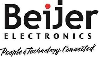 BEIJER ELECTRONICS PEOPLE & TECHNOLOGY.CONNECTED.