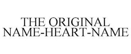 THE ORIGINAL NAME-HEART-NAME