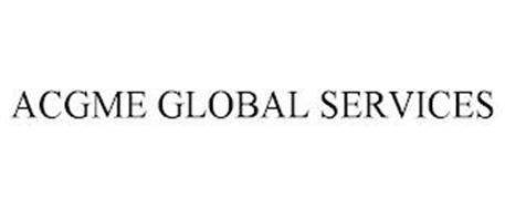 ACGME GLOBAL SERVICES