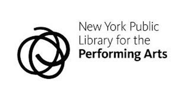 NEW YORK PUBLIC LIBRARY FOR THE PERFORMING ARTS