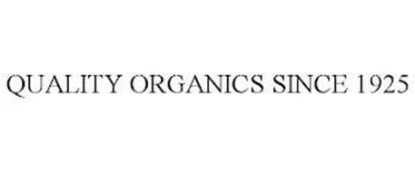 QUALITY ORGANICS SINCE 1925