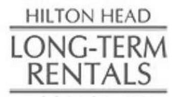 HILTON HEAD LONG-TERM RENTALS