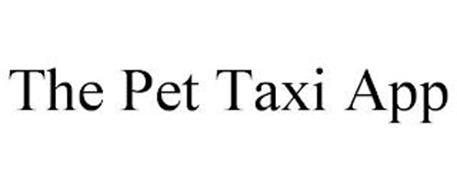 THE PET TAXI APP