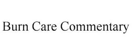 BURN CARE COMMENTARY