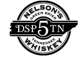 NELSON'S GREEN BRIER DSP 5 TN TENNESSEE WHISKEY