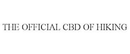 THE OFFICIAL CBD OF HIKING