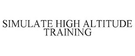 SIMULATE HIGH ALTITUDE TRAINING