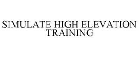 SIMULATE HIGH ELEVATION TRAINING